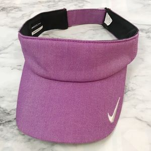 NWOT Nike Golf Purple Pink Adjustable Visor